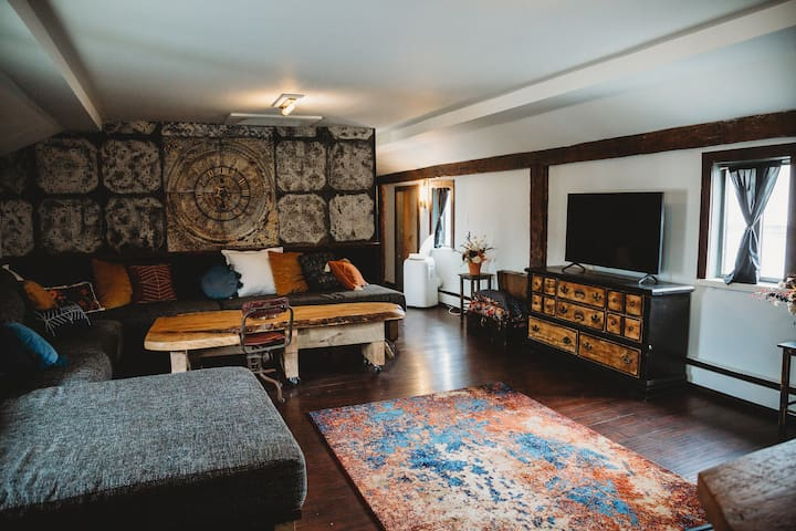 Rustic Bohemian Apartment