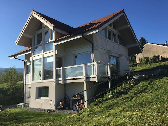 Maison en bois à 20 km de Genève - Pougny - House