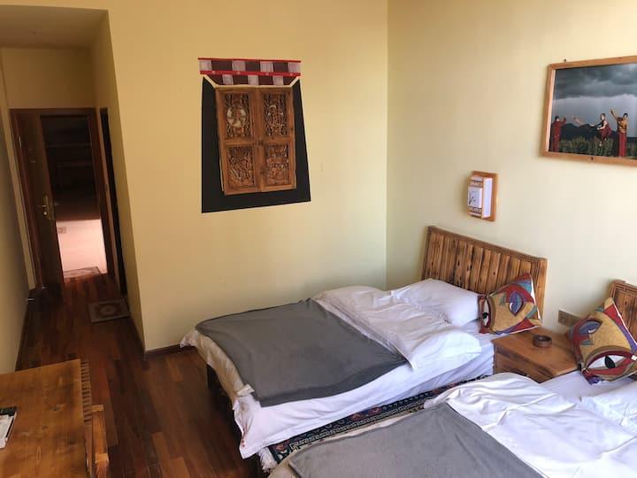 香巴拉藏式双床房