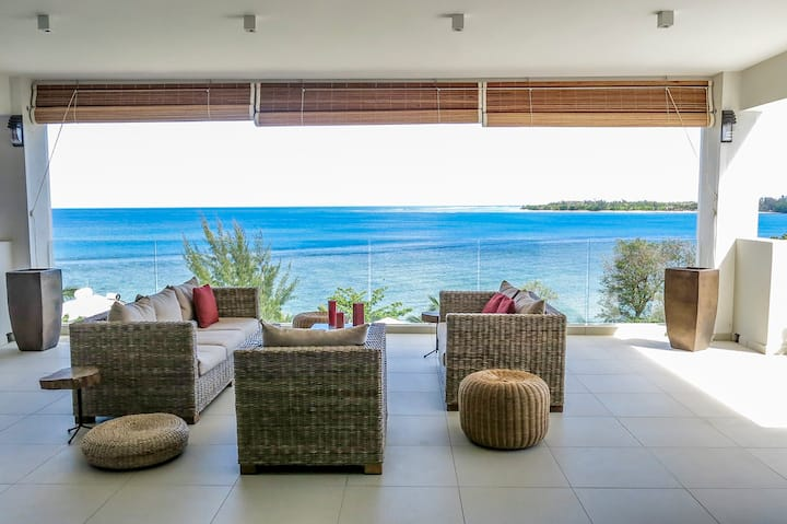 Penthouse Apartment | Exquisite Sea Views  Tamarin