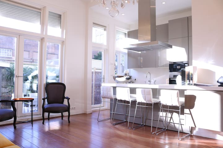 City Apartment with Garden 10 minutes from center - Amsterdam - Wohnung