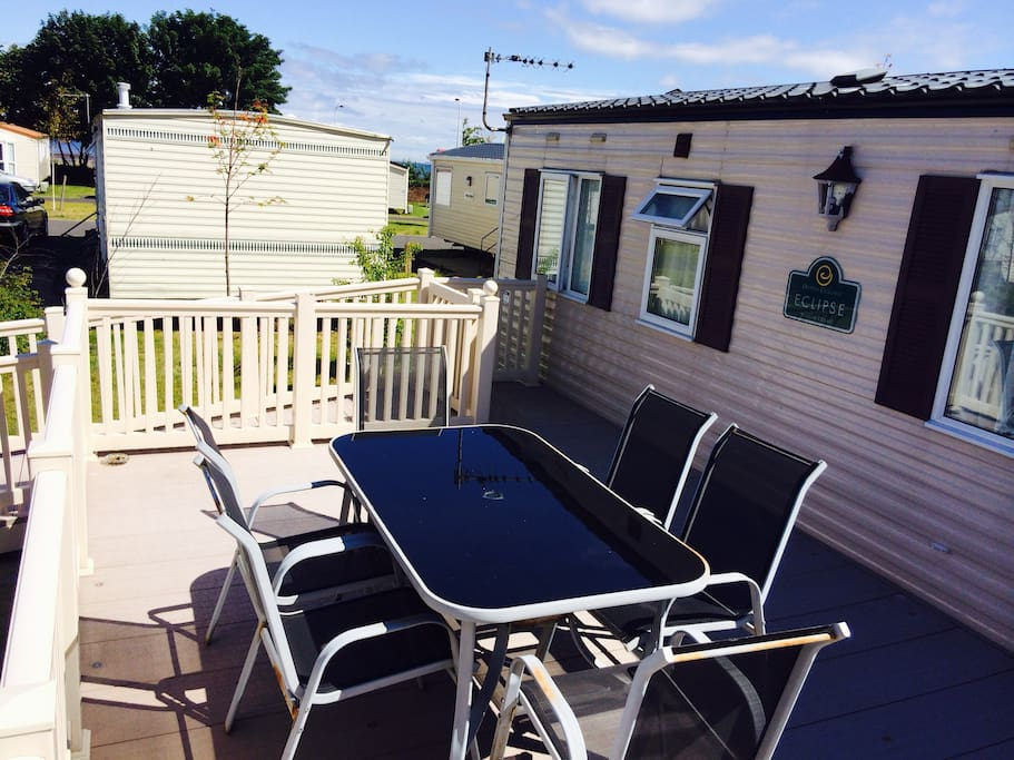 Popular  Caravan Holiday Hire At Seton Sands Longniddry East Lothian