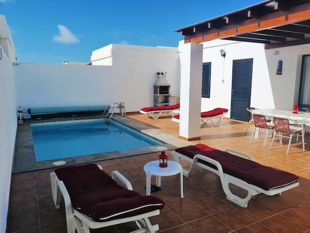 Paradise by the sea in Lanzarote