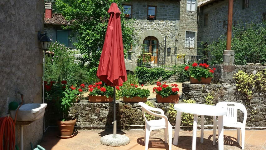 Charming traditional home - Benabbio - Appartement