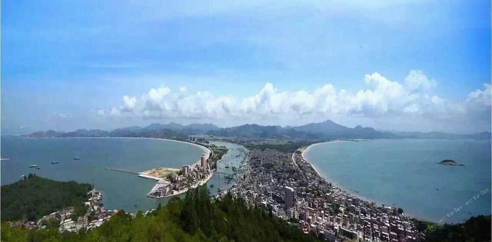 惠东万科双月湾超大精品度假家庭套房
