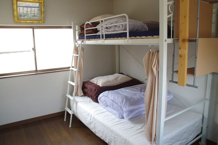 3beds for Females/5min from TobaStn