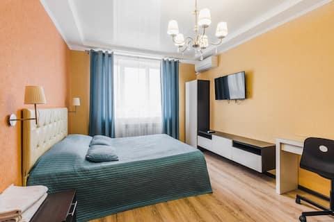 Однокомнатная квартира с приятной обстановкой