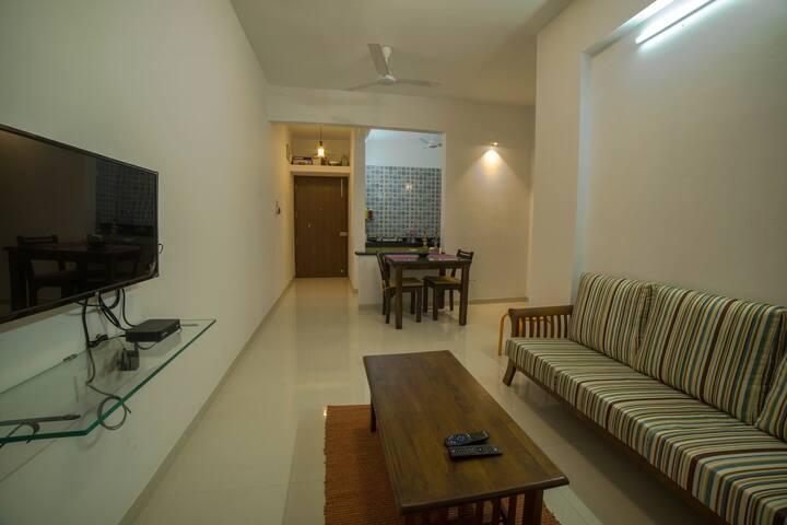 Cozy 1 BHK Apartment in Varsoli Alibag Unit 7
