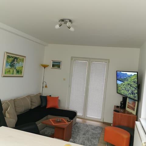 Entire Apartment- 2 beds'  Free parking & Netflix'