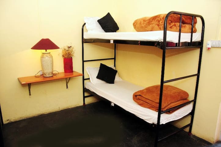 Dorm 1 - Bed 1 at Prabhu's Place a farm & stay
