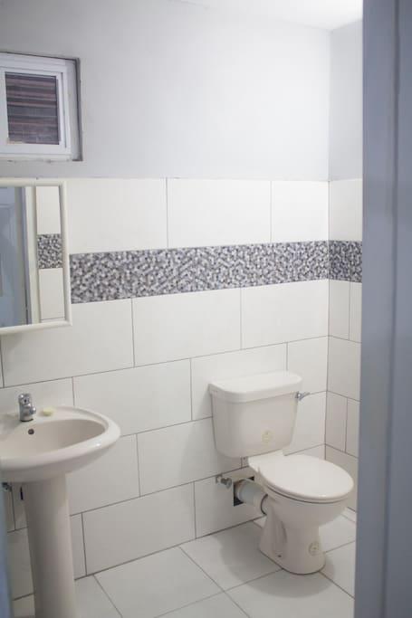 Spacious Modern Private Bathroom