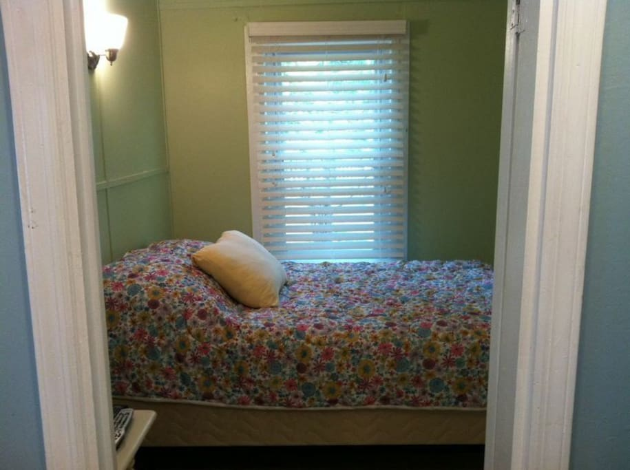 bedroom with double bed. .