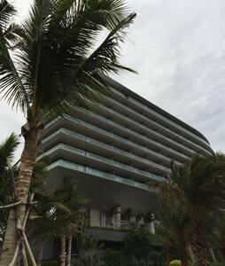 绿城清水湾- 高级海边酒店公寓-海景房-超大阳台-按摩浴缸