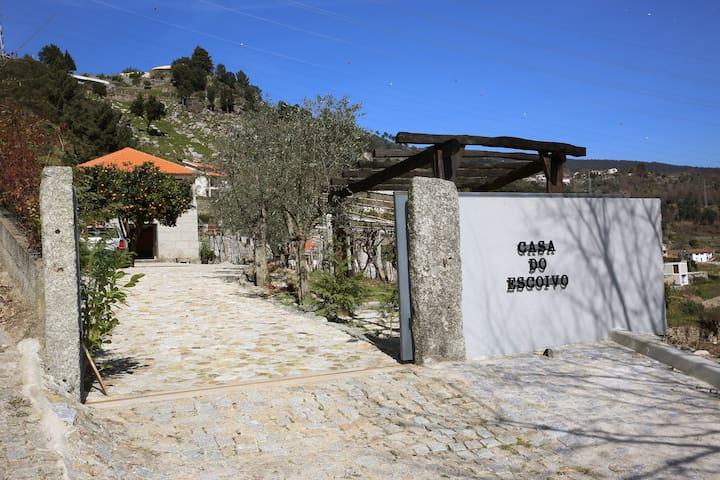 """Casa do Escoivo"" - Vista sobre rio - Loivos da Ribeira - Dom"