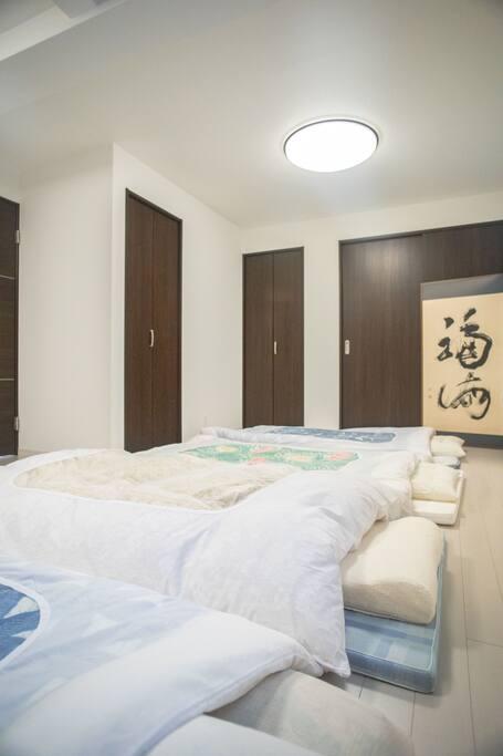 2階寝室/bed room on the 2nd floor