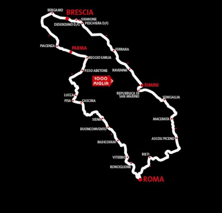 Lake Garda = Mille Miglia 18 to 21 May 2017 http://www.1000miglia.it/index-en.php