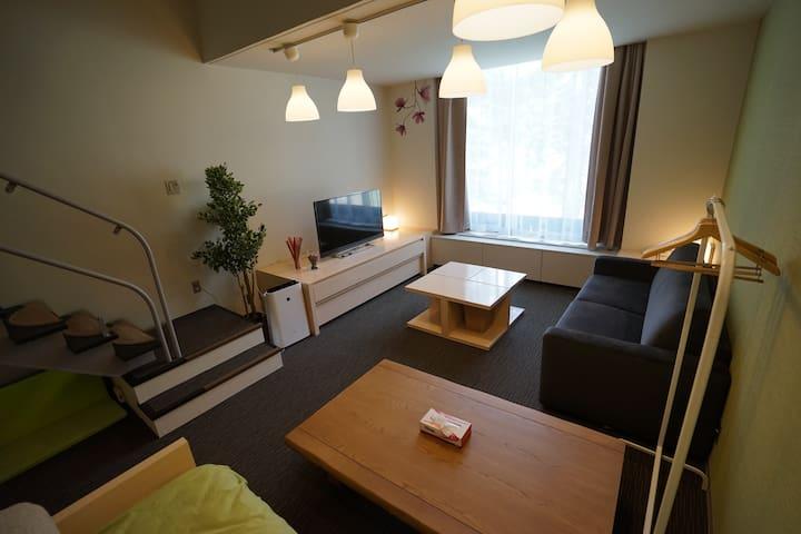 A3033_梦旅人 Dream Traveller - Shimukappu, Yūfutsu-gun - Apartment