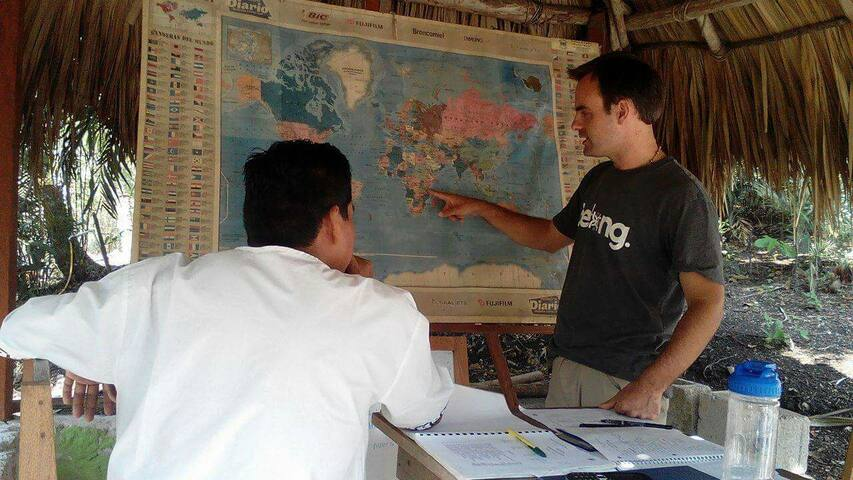 Learning Spanish Abroad -San Jose Peten Guatemala