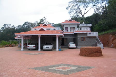 Kollur Mookambika -Plantation view room on terrace