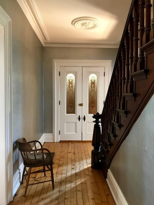 front entry + stairway