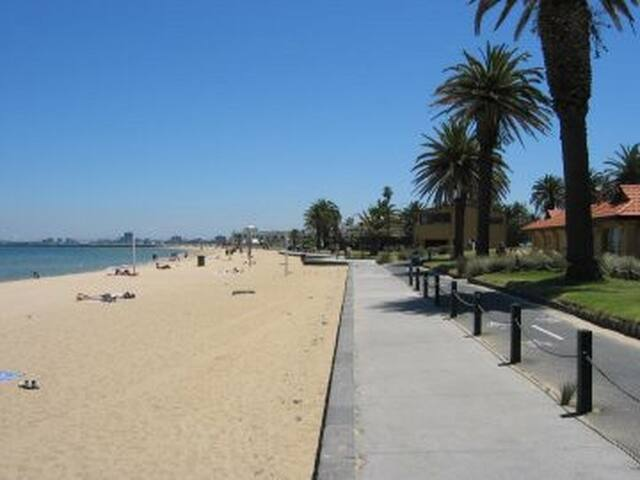 Walking distance to the beach
