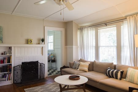 Bright & Cozy Room in Plaza Midwood Bungalow - Charlotte - Haus