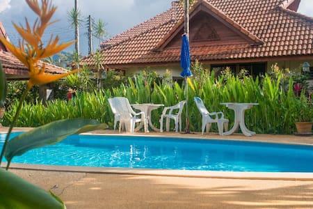 Kamala Bungalow Village+pool 700m Kamala beach*4 - Phuket - Villa
