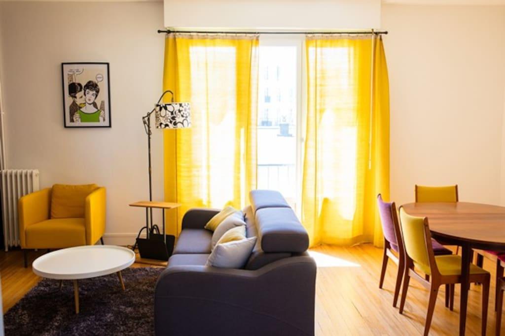 appartement au c ur du quartier notre dame appartements louer le havre normandie france. Black Bedroom Furniture Sets. Home Design Ideas