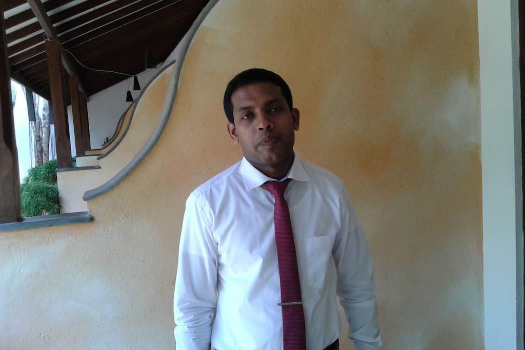 meet Chaminda, director of operations