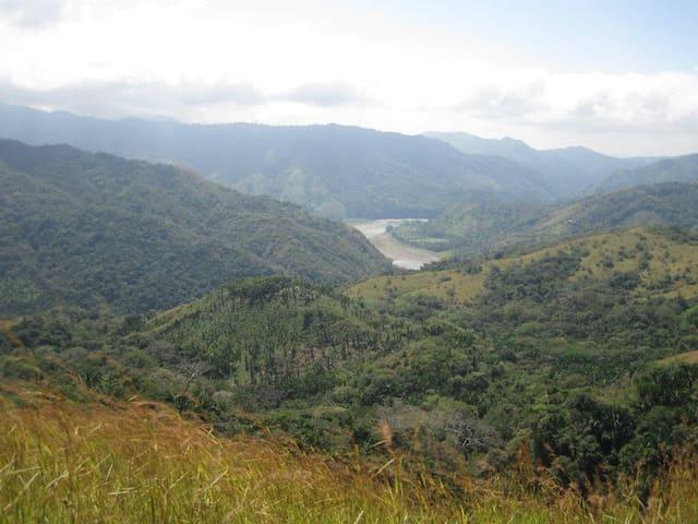 Boruca road, breathtaking views
