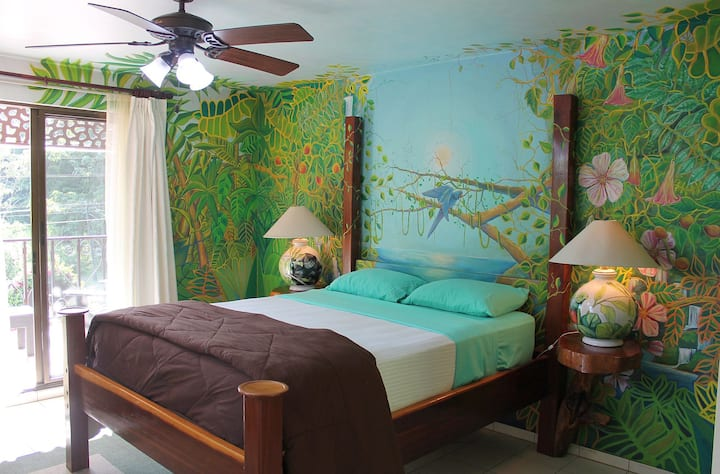 The 'Jungle Room' at Gingerbread - Lake Arenal