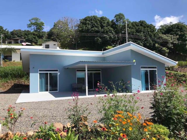 villa azul, vue sur les montagnes