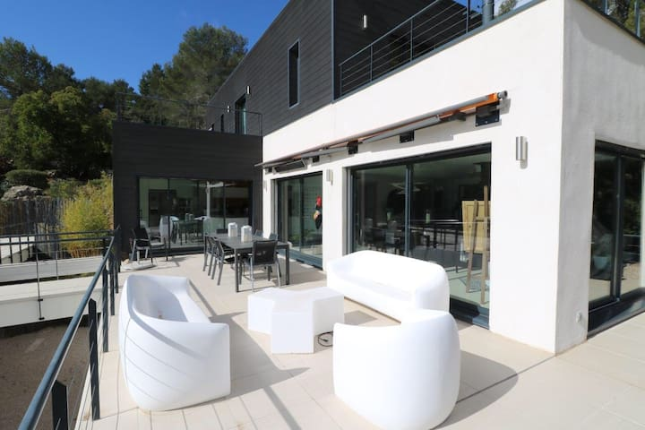 Superbe villa moderne au calme - Saint-Marc-Jaumegarde