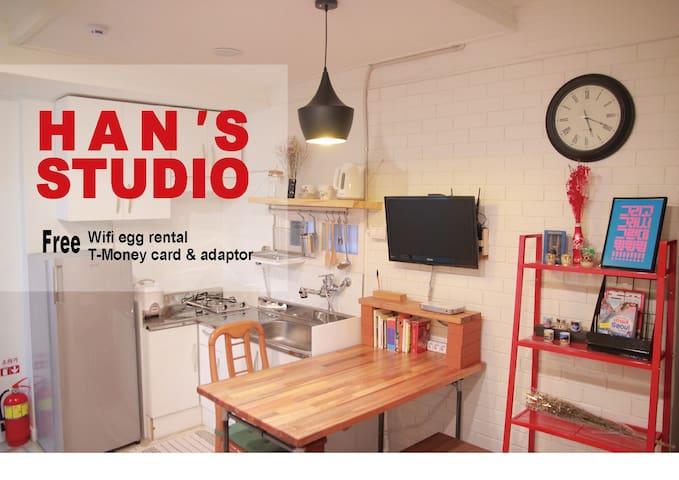 [Gangnam] Studio(2rooms, 6beds)