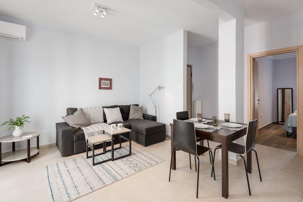 Kalamaria Brand New 1 Bedroom Apartment Apartments For Rent In Kalamaria Greece