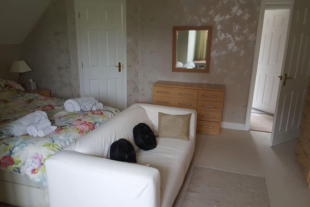 Bedroom from window