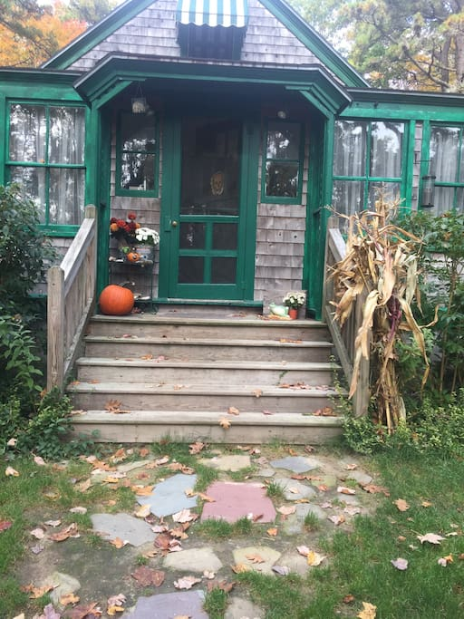 Fall decorations set the tone for a great Autumn getaway