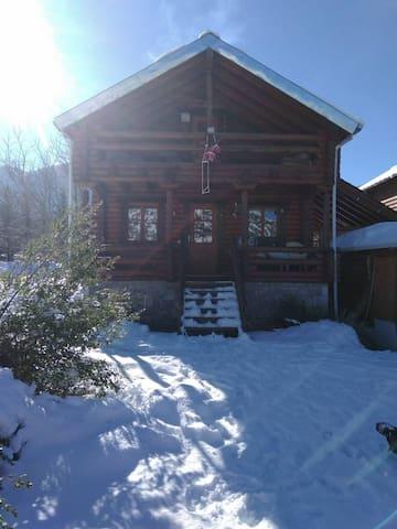 Σαλέ wooden Chalet Mainalo Αρκαδίας