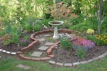 Ken and Patti's wedding garden