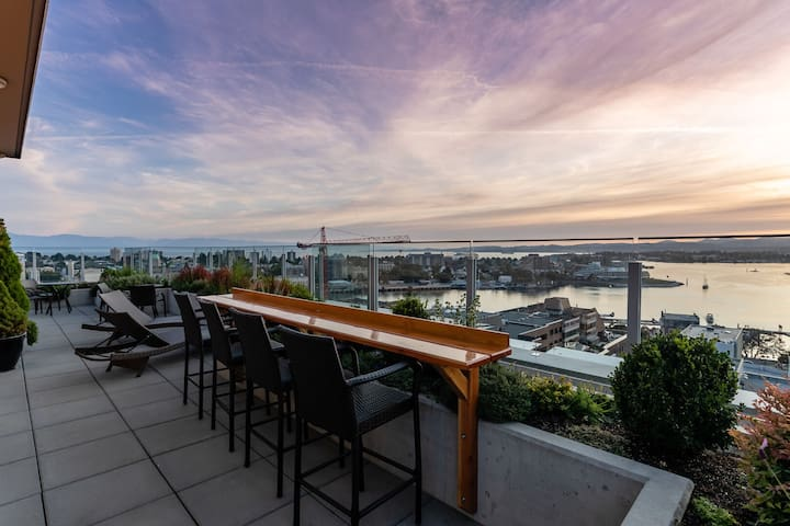 Private Downtown Executive Condo with Parking
