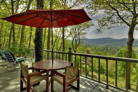 AWESOME VIEWS, 21 AC, TOP OF MTN, PEACEFUL, QUIET! - Blue Ridge - Chalet