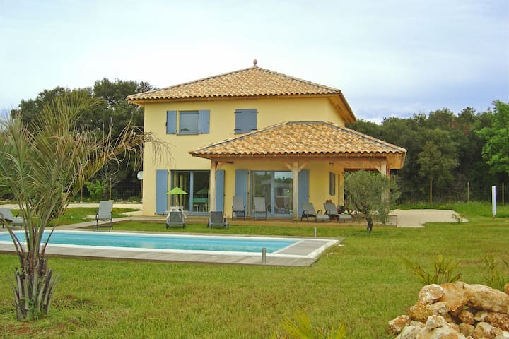 Secluded Holiday Home in Ornac with Private Swimming Pool