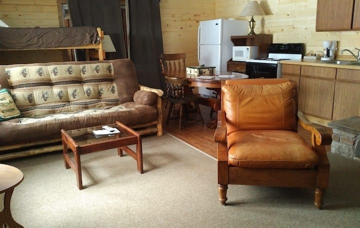 Northern Suite at AJ's Walleye Lodge