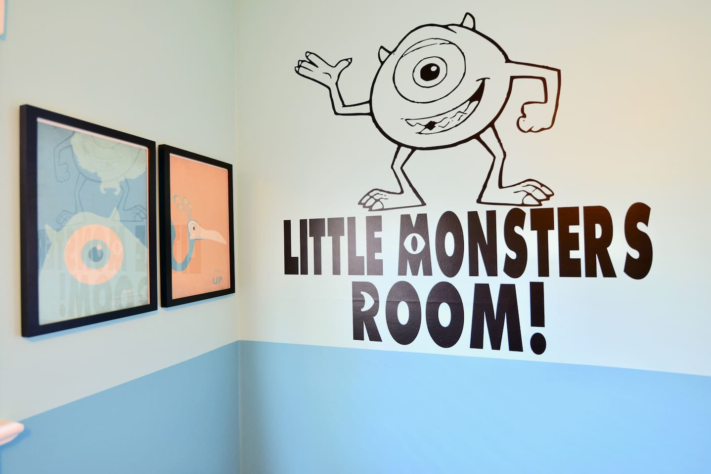 This is where your little monsters will hang out!
