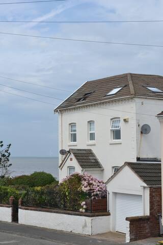 A unique Georgian house on the beach built in 1878.