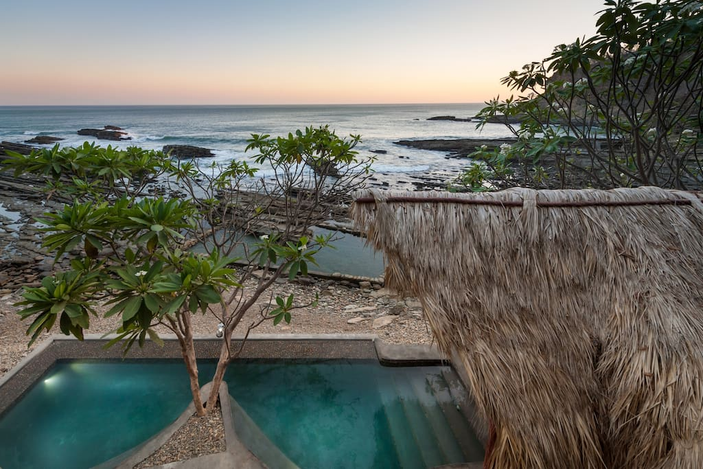 The common ocean front pools
