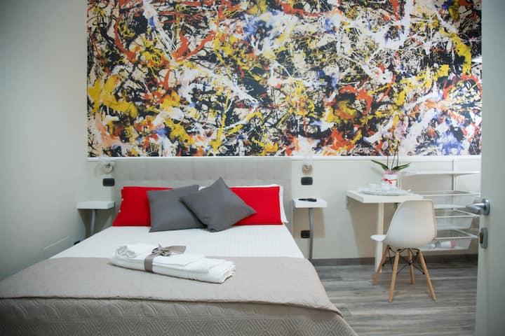 Art In B&B Pollock