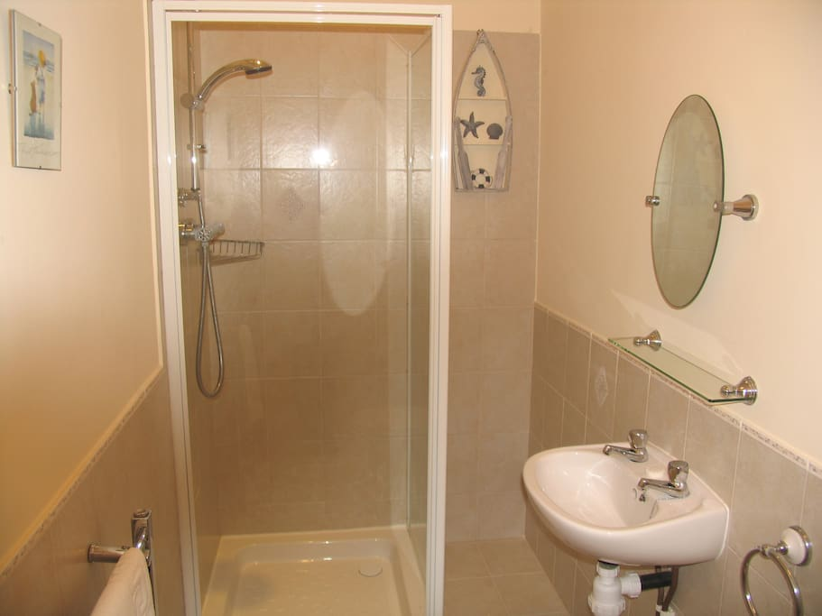 One of the shared bathrooms.