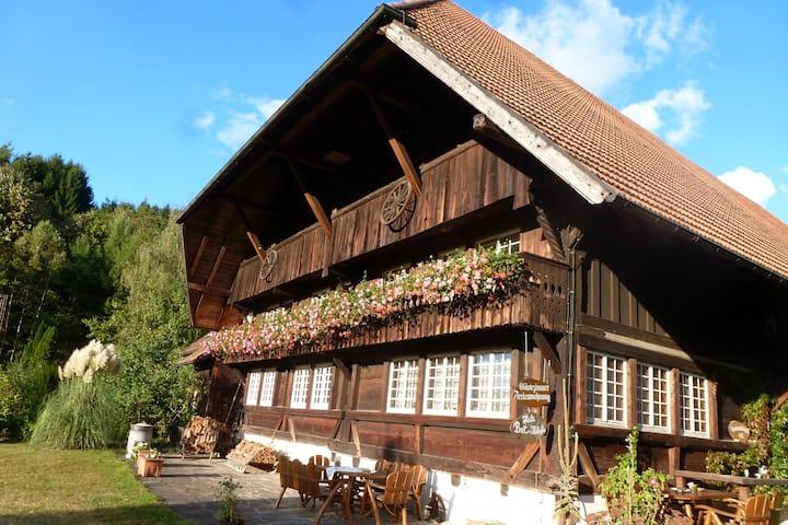 Doppelzimmer im Typischen Schwarzwaldhof
