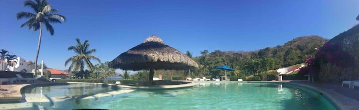 Villa con vista a la playa  110 Manzanillo, México